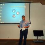 Dr. Ronaldo Taam abrindo o evento